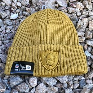 Raiders Khaki Color Beanie/Skully
